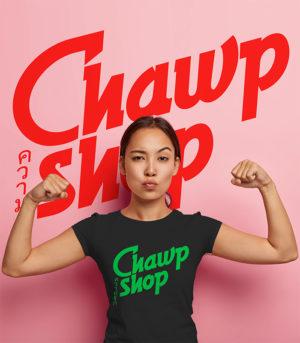 Chawp Shop - Logo - PYXEL - Graphiste Rennes